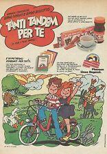 X7900 Ergo Sprint - Ergo Biscotto - Pubblicità 1977 - Vintage advertising