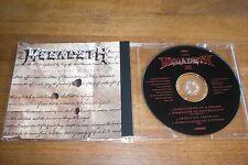 Megadeth - Foreclosure Of A Dream Maxi CD