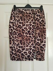 🐆Kardashian Kollection for Lipsy women's skirt size uk 14🐆