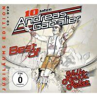 ANDREAS GABALIER - BEST OF VOLKS-ROCK'N'ROLLER (JUBILÄUMS EDITION)   CD+DVD NEU
