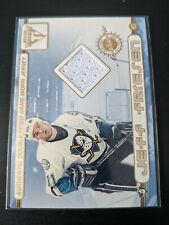 2002-03 Pacific Titanium Double-sided Jersey Card Tevordosky Jeff Friesen Ducks