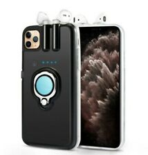 4 in 1 For iPhone 11 Case Cover With Chargeable Earphones INCLUDED