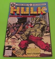 Incredible Hulk 1st app Constrictor! Key Book Heritage Rare French Edition 1977