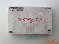 SHIN MEGAMI TENSEI II 2 GBA Nintendo Game Boy Advance JAPAN Ref:313451