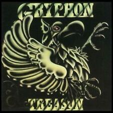 GRYPHON - TREASON (New & Sealed) Rock CD