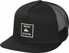 Quiksilver Mens Clipster Snapback Trucker Hat - Black