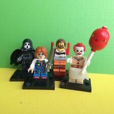 4X Horror Chucky Ghostface Hannibal Lecter Pennywise Clown Mini Figure