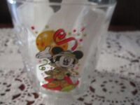 Walt Disney World MAGIC KINGDOM 2000 Celebration MCDONALDS Mickey Mouse Glass