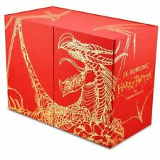 Harry Potter 7 Books Complete Collection Hardback Gift Box Set New