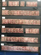 Sg 43 Penny Red Part Reconstruction From Plate 74. 9 Missing. 231 Stamps.