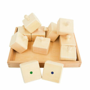 Sensory Sound Boxes with Tray in Natural Timber