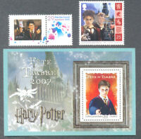 Harry Potter(3)France-IOM-Netherlands-stamps collection mnh