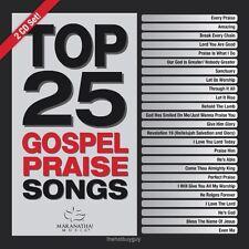 Top 25 Gospel Praise Songs by Maranatha Music Gospel (CD, Nov-2015, 2 Discs) NEW