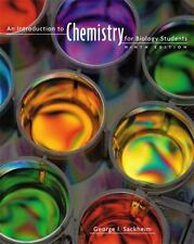 AN INTRODUCTION TO CHEMISTRY FOR BIOLOGY STUDENTS 9E - PAPERBACK BOOK