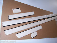 1992 OLDS TORONADO TRIM MOLDING 6 Pcs DOOR FENDER BODY USED OEM OLDSMOBILE 1991