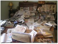 lotto di 1000 1.000 mille francobolli mondiali usati misti vari a peso timbrati