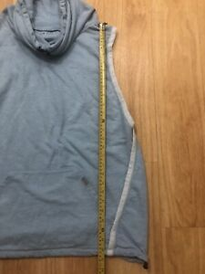 Mens XL Champion Pullover Hoodie Snood Like Neck Sleeveless Quite Unique