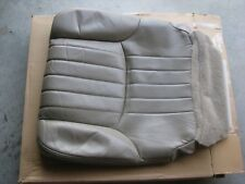 NEW GENUINE GM RH PASSENGER FRONT LEATHER SEAT COVER LUMINA MONTE CARLO NEUTRAL
