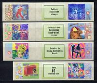 40474) Australia 1997 MNH Rockn Roll Music S-A 8v Different Labels