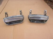 NOS MoPar 1957-1959 Desoto Chrysler 4 Door Rear Door Handle Left Right Pair