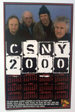 CSNY 2000_ORIGINAL_PROMO_2-SIDED CALENDAR-TOUR SCHEDULE_CROSBY_STILLS_NASH_YOUNG