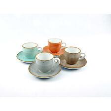 Creatable 17724 Serie Vintage Nature Geschirrset Espressoset 8 teilig