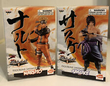 Naruto Shippuden Naruto & Sasuke Banpresto Figures Bandai Namco