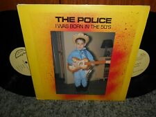 The Police I Was Born In The 50's LIVE Double LP Not TMOQ
