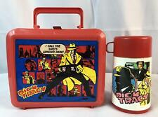 Dick Tracy LunchBox Aladdin Disney Brand Red Vintage 1990