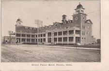 Grand Elegant Dewey Palace NAMPA IDAHO Water Tower UDB Antique 1900s Postcard