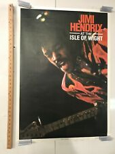 Jimi Hendrix at the Isle Of Wight Festival Are You Experienced 1990 Poster NOS
