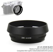 JJC Black Lens Hood For Fujifilm X100F, X100, X100S, X100T Camera, Replaces