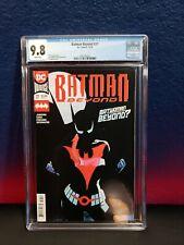 Batman Beyond #37 CGC 9.8 NM+ MT Batwoman Beyond 1st print