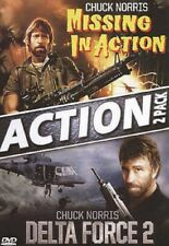 MISSING IN ACTION + DELTA FORCE 2 (CHUCK NORRIS) *NEW DVD*