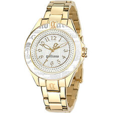 Orologio Galliano da donna con bracciale acciaio dorato DATE KEEPER R2553105505