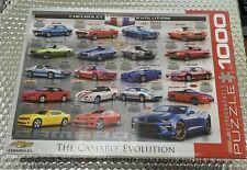 THE CAMARO EVOLUTION EUROGRAPHICS 1000 PC. PUZZLE 6000-0733