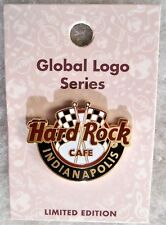 HARD ROCK CAFE INDIANAPOLIS LIMITED EDITION GLOBAL LOGO SERIES PIN # 99813