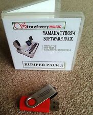 BUMPER PACK 3 Tyros 4 software collection USB Tyros4