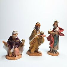 Lot 3 Wisemen Wise Men Fontanini Nativity Depose Simonetti Italy 1992 4, 5, 6