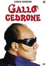 Dvd GALLO CEDRONE - (1998) ** Carlo Verdone **  ......NUOVO