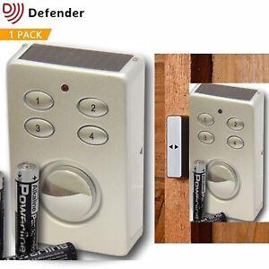 Security Wireless Door Window Shed Alarm Garage Home House Office Intruder Alert