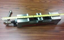 "4"" DOUBLE LOCK CNC PRECISION VISE 24"" overall length #8500-DL4- NEW"