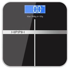 Family Body Scale Fat Smart Digital Muscle BMI Bathroom Weighing LCD 400lb/180kg