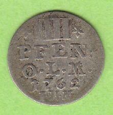 Oldenburg dänisch 4 Pfennige 1762 sehr schön selten nswleipzig
