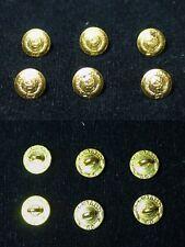 6 Boutons général Armée Soviétique URSS 14 mm 1980.