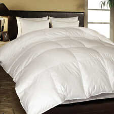 Hotel Grand White Goose Feather & Down Comforter Twin Size