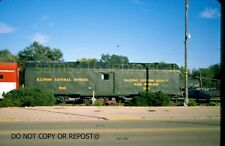 ORIGINAL SLIDE ILLINOIS CENTRAL RR RPO 508 MENDOTA IL 2019