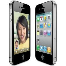 Apple iPhone 4S GSM Black UNLOCKED FOR AT&T  T-MOBILE STRAIGHT TALK SIM CARD
