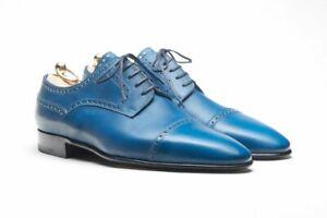 Stefano Bemer Couture Goodyear Chaussures~ Fait à la Main en Italie