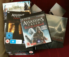 Assassin's Creed 2, 3, Brotherhood, and Revelations Collectors Edition, PS3
